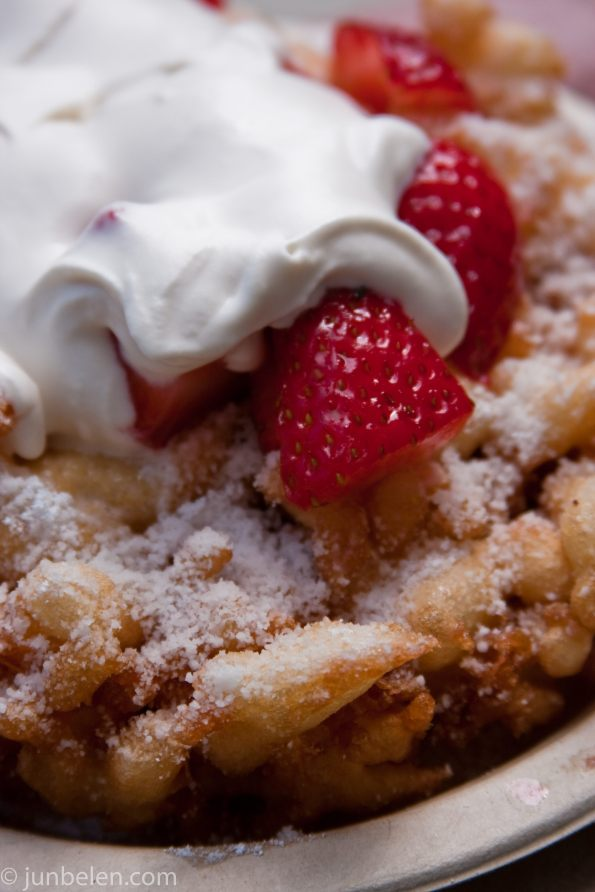 Endless Summer Sweets' Funnel cake