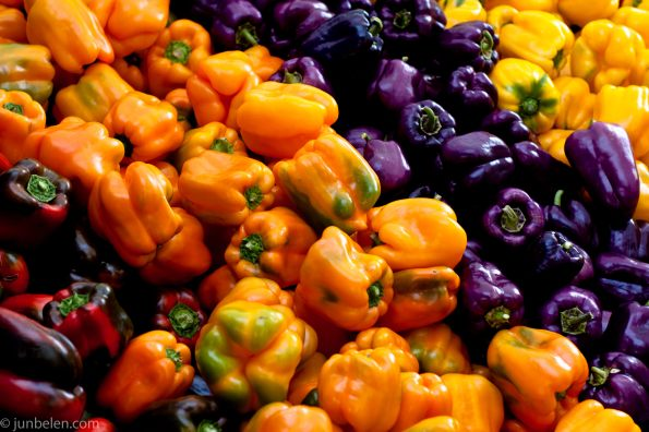 Fresh Farmers Market Peppers