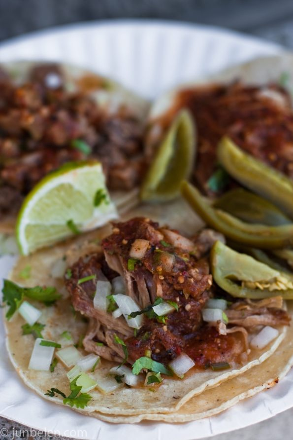 Carnitas and Lengua Tacos at El Toyanense
