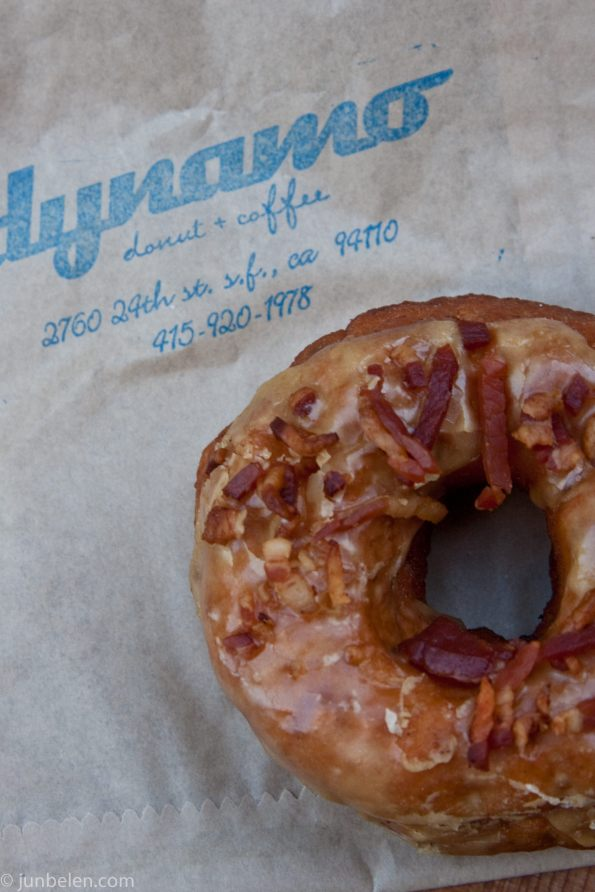 Dynamo Donuts Maple Glazed Bacon Apple