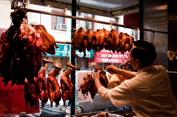 Shopping for Char Siu in Chinatown