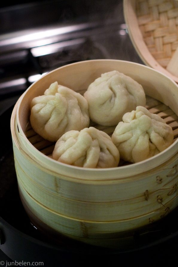 Homemade char siu bao or siopao