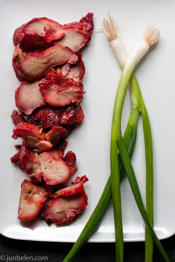 Char Siu Pork and Scallions